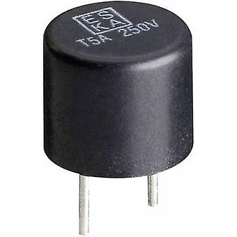 Pico fuse Radial lead circular 0.08 A 250 V time d