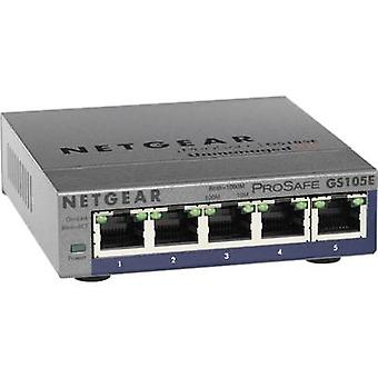 Network RJ45 switch NETGEAR GS105E 5 ports 1 Gbit/s