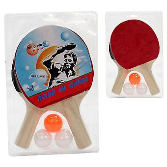 Juinsa Ping-Pong Game 2 Rackets + 3 Balls (Babies and Children , Toys , Others)