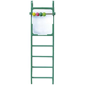 Ica Ladder with Mirror and Cta (Birds , Toys)