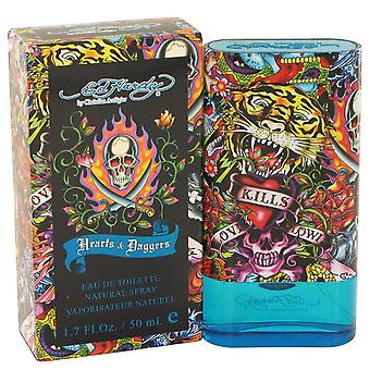 Ed Hardy Hearts & dolkar Eau De Toilette Spray av Christian Audigier