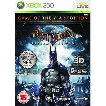 Batman Arkham Asylum - Game of the Year (Xbox 360)