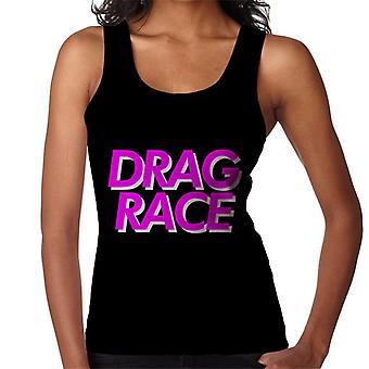 Drag Race Pink Font Women's Vest