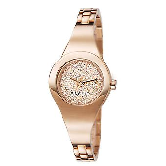 ESPRIT ladies watch bracelet watch Lilith dazzle stainless steel Rosé ES107252003
