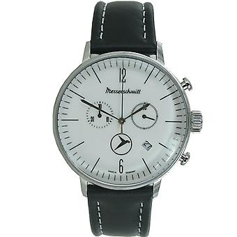 Aristo Messerschmitt mens watch Chrono ME-4 H 175 leather