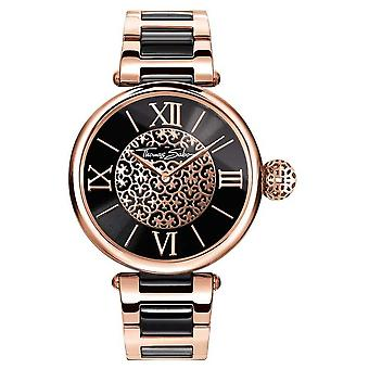 Thomas Sabo Women's Karma | Two-Tone Stainless Steel/PVD Strap | WA0280-268-203-38
