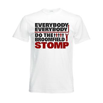 Airdrie Broomfield Stomp T-Shirt (White)