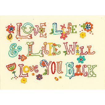 Love Life Mini Embroidery Kit-7