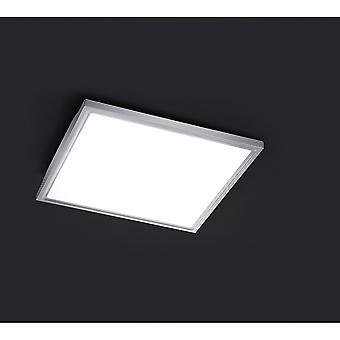 Trio belysning framtida moderna Nickel Matt stål taklampa