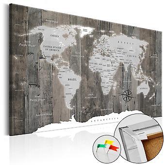 Dekorative Pinboard - verden af træ [Cork kort]