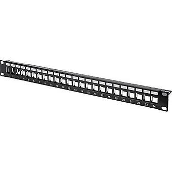 Digitus DN-91411 24 ports Network patch panel Unequipped 1 U