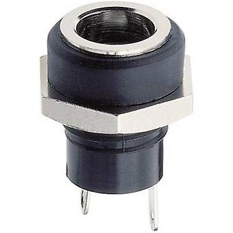 Lumberg 1614 09 Low power connector Socket, vertical vertical 5.7 mm 2 mm 1 pc(s)