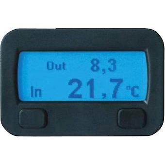 Thermostat Thermostat function, Attachment, Recess-mount, Inside temperature, Outside temperature, Ice alert, Tilt indic