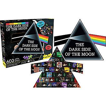 Pink Floyd Shaped 600 Piece Double Sided Jigsaw Puzzle 720Mm X 375Mm