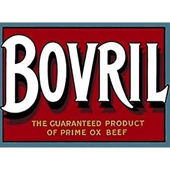 Bovril rótulo imã de geladeira