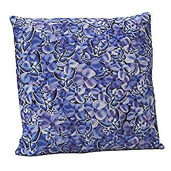 Blue Butterfly Design Cushion