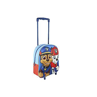 Paw Patrol Chase Marshall Trolley suitcase 3D Scene 31 x 25 x 10 cm