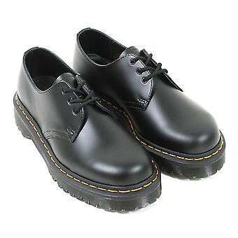 Dr Marten's Women's 1461 3-Eye Bex Smooth Leather Lace Up Shoe Black