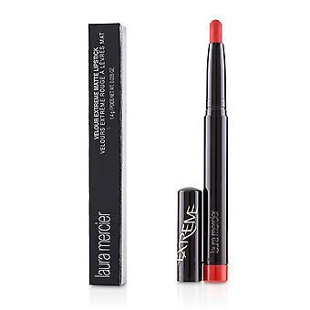 Terciopelo de Laura Mercier lápiz labial mate extremo - # fuego (rojo anaranjado) - 1.4g/0.035oz