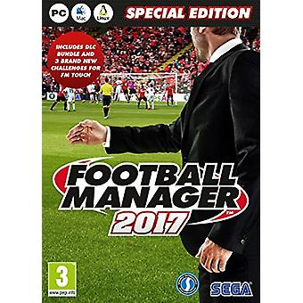 Football Manager 2017 Limited Edition (PC CD) - Factory Sealed
