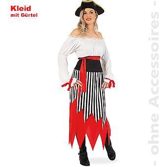 Pirat dam kostym damer pirat klä Seeräuberin pirate Lady kostym