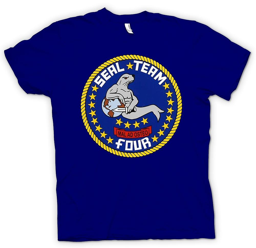 Hommes T-shirt - Seal Team 4 - US Navy