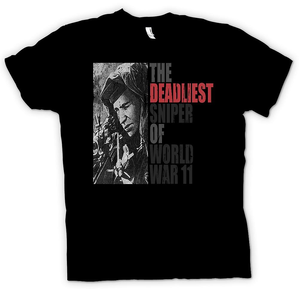 Womens T-shirt - The Deadliest Sniper Of World War 2
