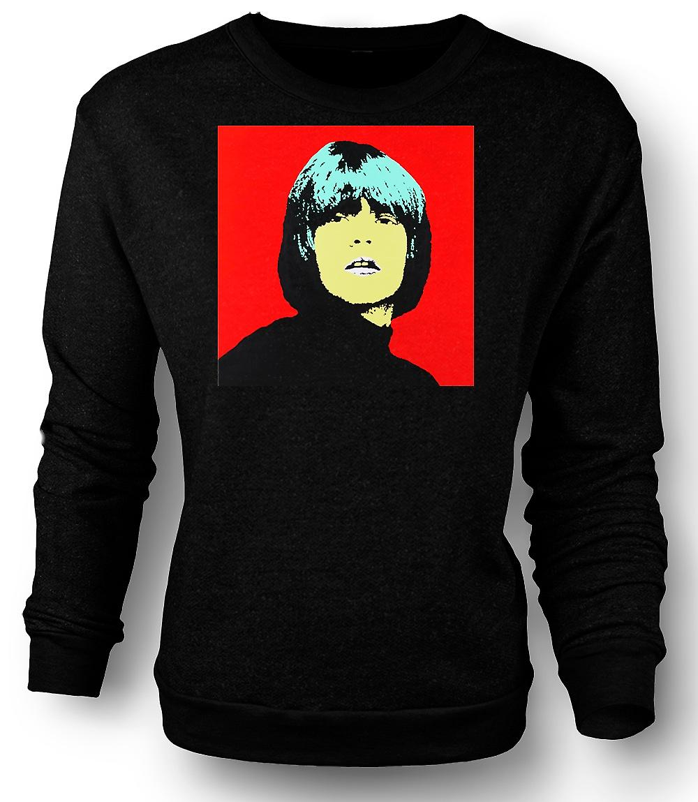 Mens Sweatshirt rollende Steine Brian Jones - Pop-Art