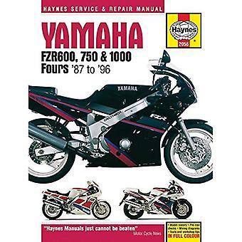 Yamaha FZR 600, 750, 1000 Service et manuel de réparation (Haynes Service et manuels de réparation)