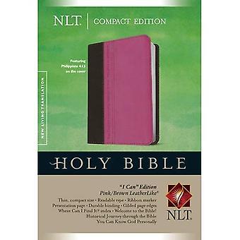 NLT Compact Edition, Tutonen, pinkki/ruskea