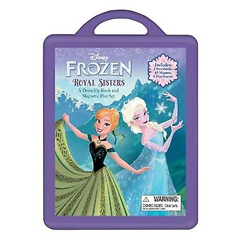 Disney Frozen: Royal systrar: en Dress-Up bok och magnetiska Play Set [med 2 magnetiska dockor och sex spela scener, klänningar]