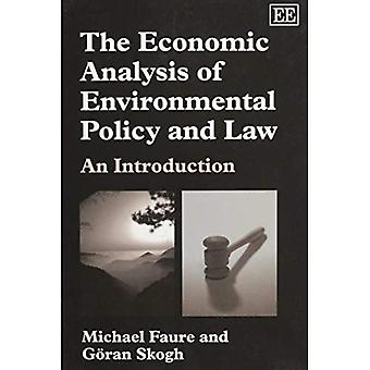 Economic Analysis Of Environmental Policy And Law An Introduction