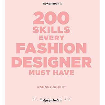 200 Skills Every Fashion Designer Must Have