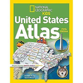 Atlas de Estados Unidos National Geographic Kids