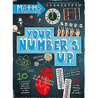 Maths est partout: place de votre nombre: chiffres, nombre de lignes, les nombres négatifs et positifs (Maths est partout)