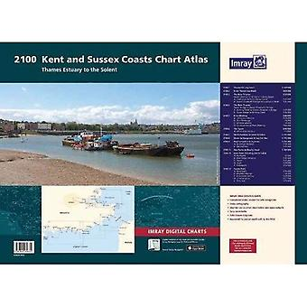 2100 Chart Atlas: Kent and� Sussex Coasts (2000)