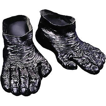 Füße-Gorilla
