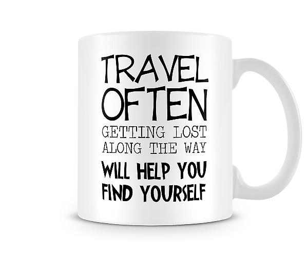 Travel Often Mug