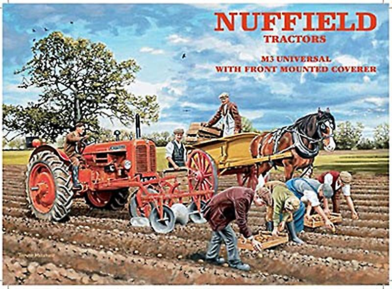 Nuffield Tractors metal sign   (og 2015)