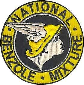 National Benzole iron-on/sew-on cloth patch   (ff)