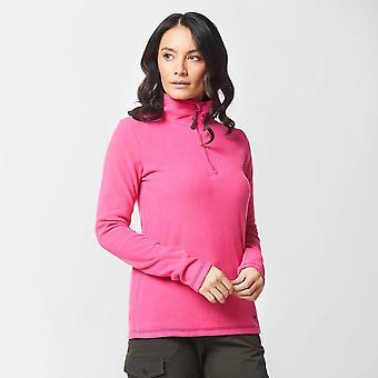 New Peter Storm Women's Grasmere Half-Zip Fleece Pink
