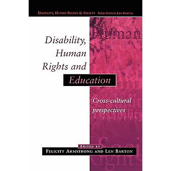 Disability Human Rights and Education by Armstrong & Michael