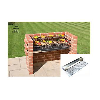 Black Knight murstein Grill Kit kalv ved 801GB