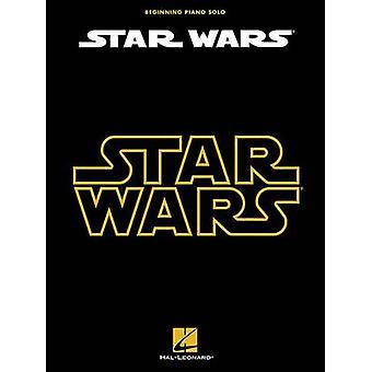 Star Wars for Beginning Piano Solo - 9781476874630 Book