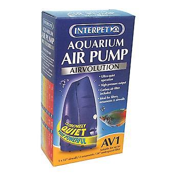 Interpet AirVolution AV1 Aquarium Air Pump