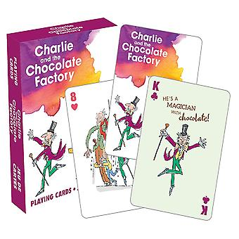 Roald Dahl Charlie Playing Cards