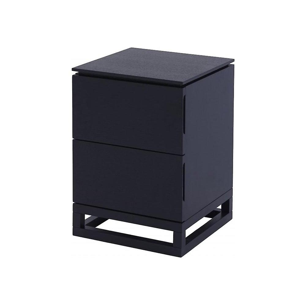 Gillmore Space Wenge petit Bedside Chest Of Drawers