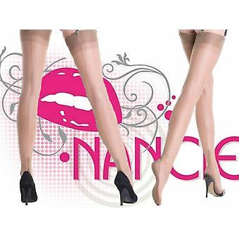 Nancies Lingerie Fully Fashioned Cuban Heel Stockings in 15 Denier