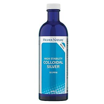 Higher Nature Colloidal Silver Solution 200ml