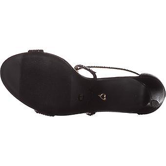 Thalia Sodi Womens Darria Fabric Open Toe Special Occasion Strappy Sandals